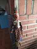 Marioneta tunecina de adorno