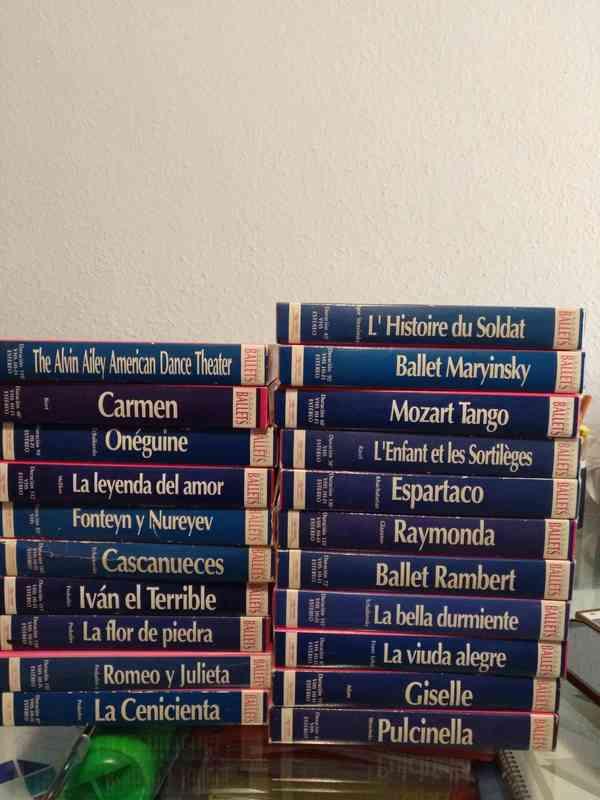 Colección grandes ballets VHS