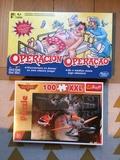 Juego de Operación y puzzle