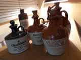 Regalo botellas de cerámica de whisky y ginebra