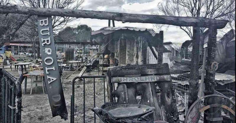 Urgentemente por un incendio en la ONG de Amigos del Burro necesitan