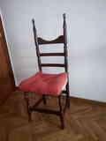 Regalo tres sillas de enea con cojines .