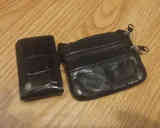 Pequeño monedero y clip para billetes