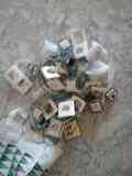 Bolsa de enchufes, interruptores, material eléctrico 2a mano
