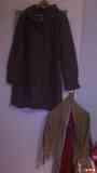 regalo abrigo y 3 pañuelos de tela