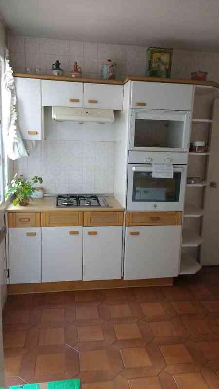 regalo - Muebles de cocina con horno y vitrina extractora ...