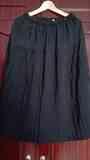 Falda negra tablas. Talla G