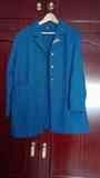 Chaqueta 3/4 azul turquesa Talla 56(marirf)