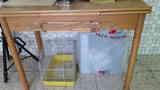 Mesa de cocina y 2 sillas