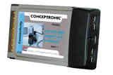 Tarjeta PCMCIA 3xUSB