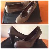 Zapatos chica de piel