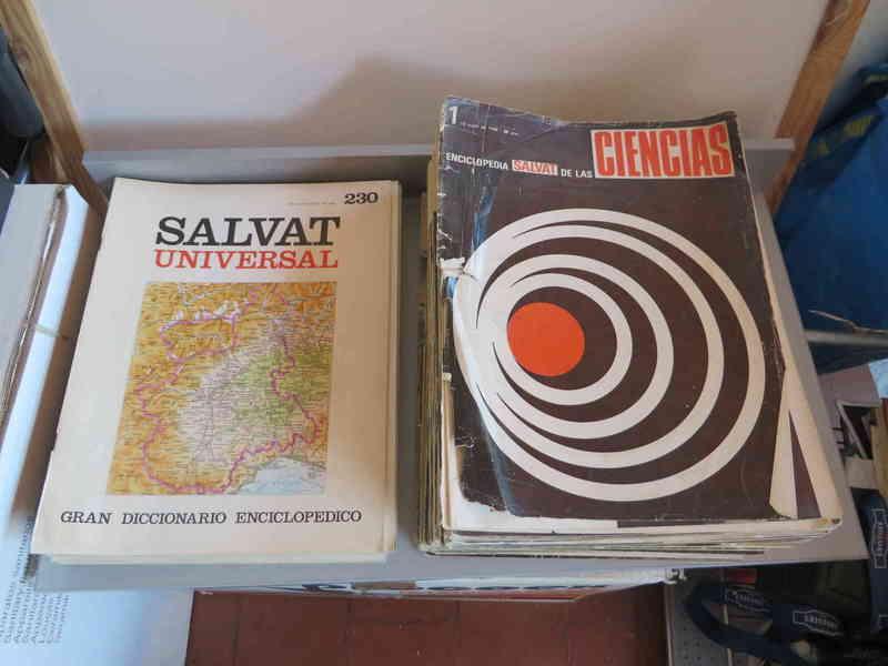 Fascículos Enciclopedia Salvat Universal