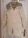Abrigo blanco largo