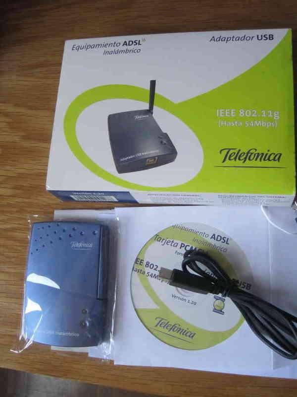 Adaptador Wifi USB para Windows XP