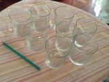 8 vasos