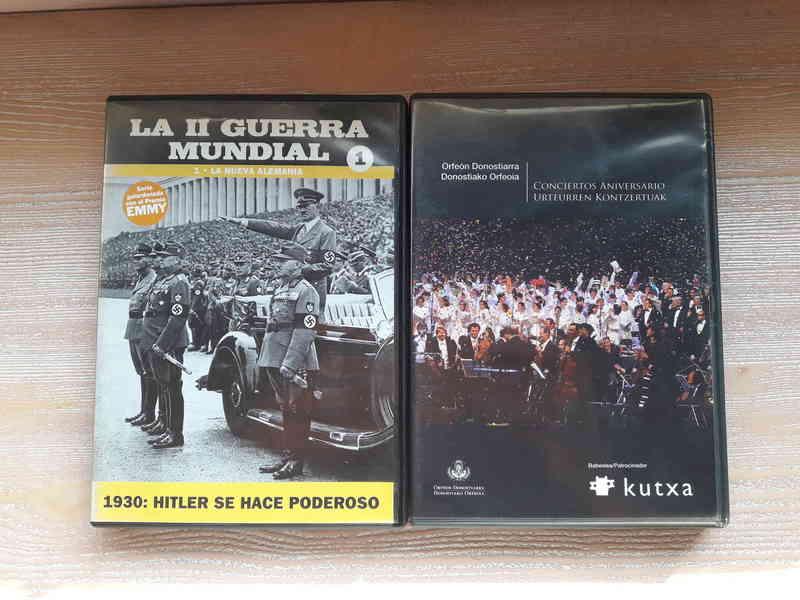 Regalo dos DVD'S
