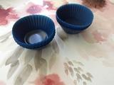 Moldes de silicona para magdalenas.