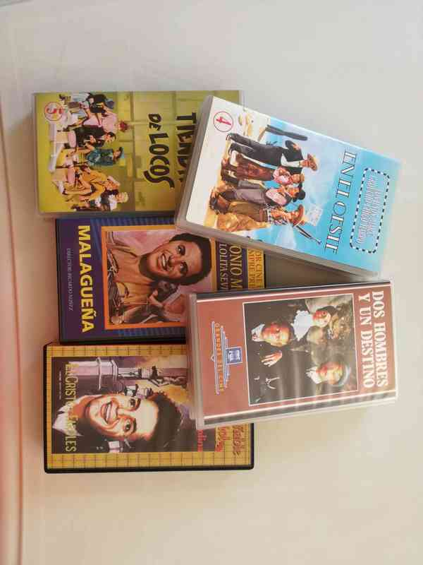 Peliculas antiguas VHS
