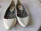 bailarinas blancas nº 38