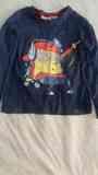 Camiseta niño manga larga talla 98/104