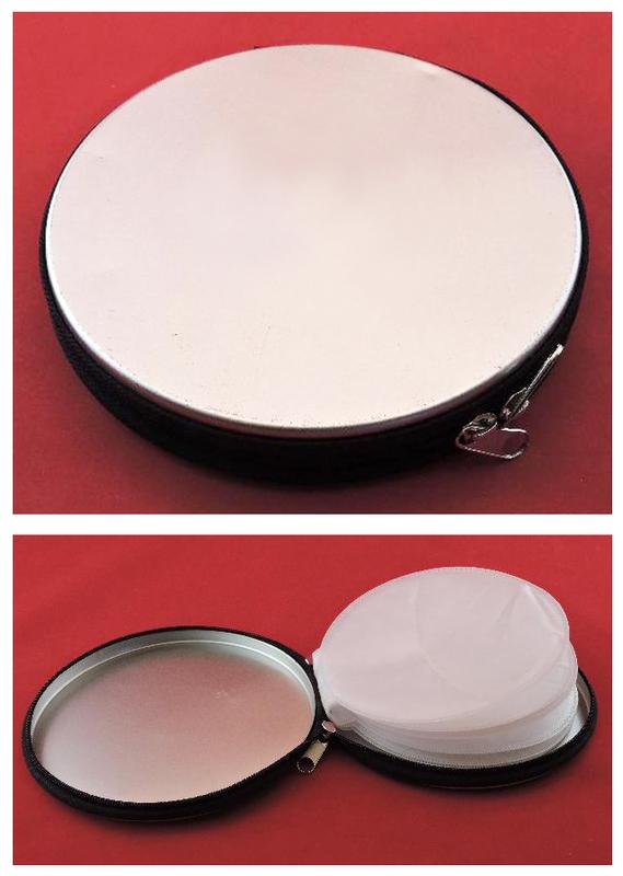 Estuche metálico para CDs (a aguas turquesas)