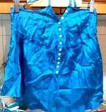 top talla L - azul eléctrico