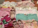 Lote de ropa niña de 0 a 2 añitos