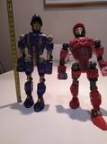 Dos soldados espaciales de Lego