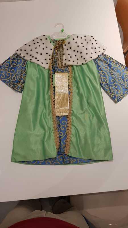 Disfraz de Rey Mago edad 4 a 6 años