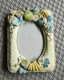 Regalo marco de fotos de cerámica. (neni22)