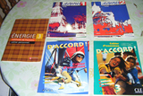 Pack de 5 libros con curso de francés