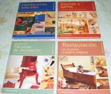 Libros sobre manualidades caseras.