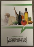 "Libro "" Las mejores recetas [I concurso de tapas bodegas Mezquita]"""