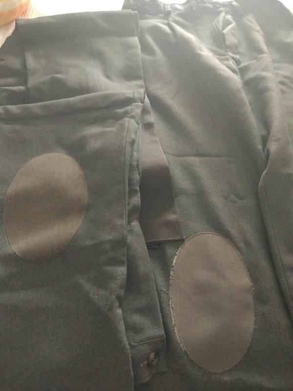 Pantalones grises 11-12