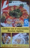 Libro de recetas para microondas