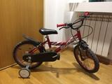 Regalo bicicleta niño con ruedines