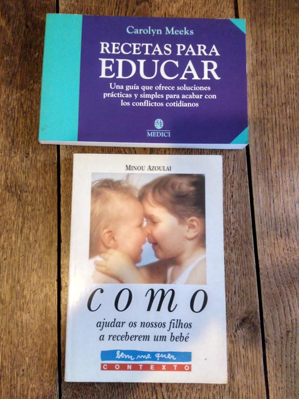 Dos libros sobre educar a los hijos