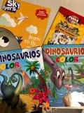 Libros de actividades y colorear