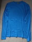 Camiseta Manga Larga Azul Hombre Talla M (Springfield)
