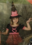 Disfraz de bruja para talla 3/4 años