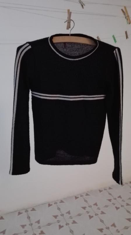 Jersey negro Talla M/L(Nelida)