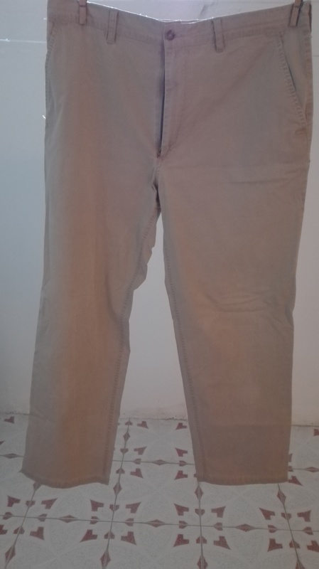 Pantalon chico, color marron clarito/beis. Talla 46 (1amigomio)