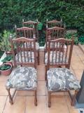 Conjunto de 6 sillas