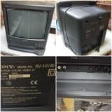 Television de culo marca SONY con video VHS incorporado