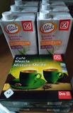 6 bricks de bebida de arroz  (caducidad 27/02/2019) y 2 paquetes de café (caducidad 01/2019)