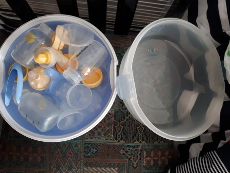 Esterilizador y biberones