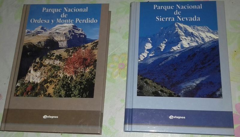 Dos libros de temática parques.