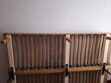 Somier de lamas y colchón de 135x200 cm