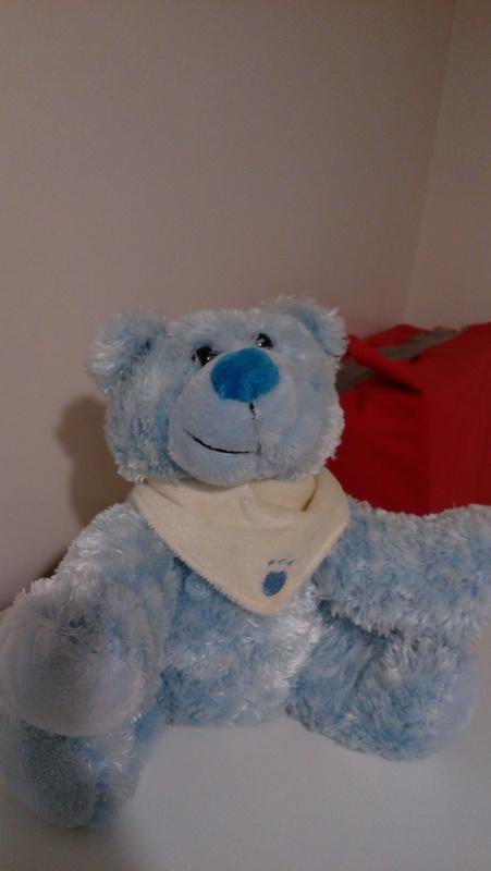 Osito de peluche azul