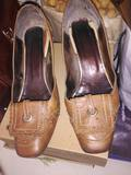 Zapatos marrones de piel